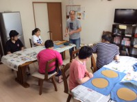 文化祭陶芸作り (1)