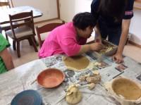文化祭陶芸作り (3)